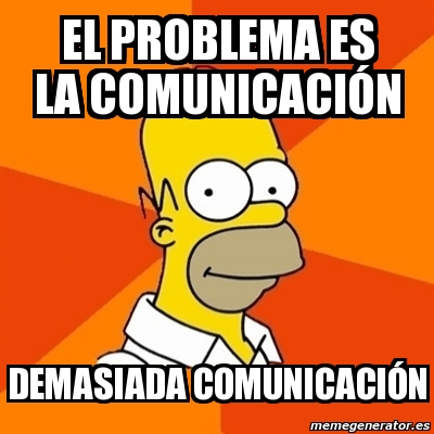 problema comunicacion
