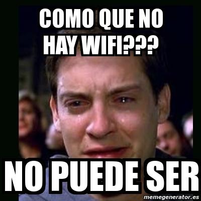 Comprueba que funciona la wifi durante el hackathon