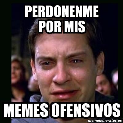 Meme crying peter parker - perdonenme por mis memes ... Tobey Maguire