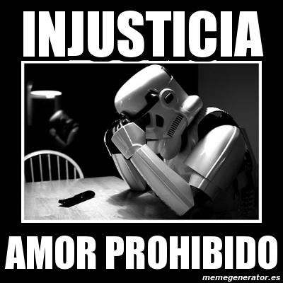 injusticia amor prohibido