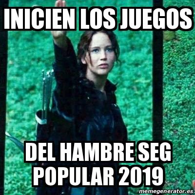Meme Personalizado Inicien Los Juegos Del Hambre Seg Popular 2019