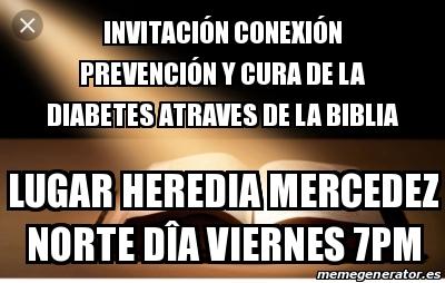 diabetes en la biblia