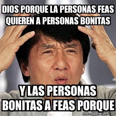 Meme Jackie Chan - dio...