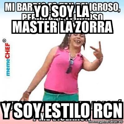 master zorra