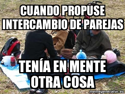 intercambio de parejas en español