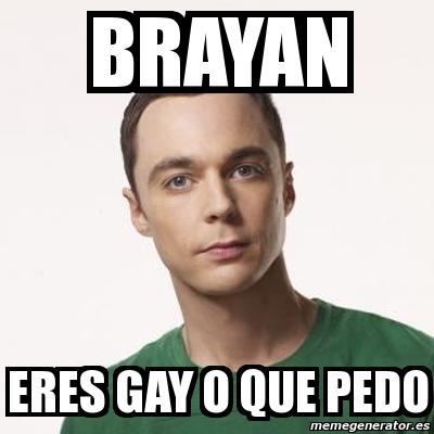 Eres todo gay