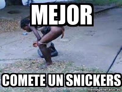 Comete Un Snickers Wwwpicturessocom