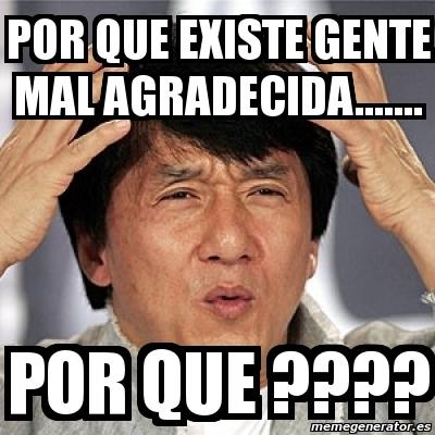 Meme Jackie Chan - POR...