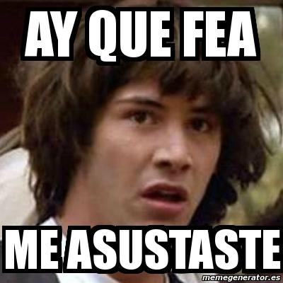 Meme Keanu Reeves - ay...