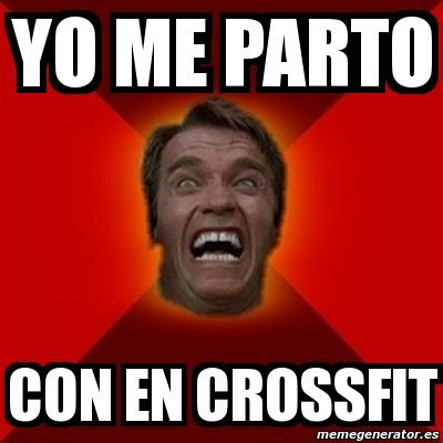 Crossfit arnold meme