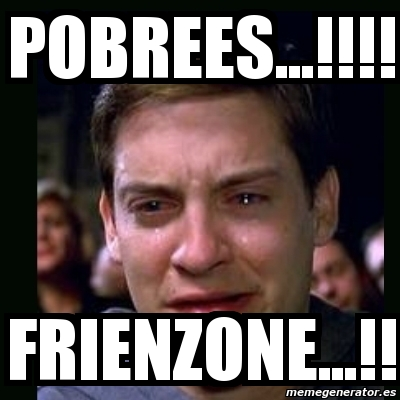 Meme crying peter parker - pobrees...!!!! frienzone ... Tobey Maguire