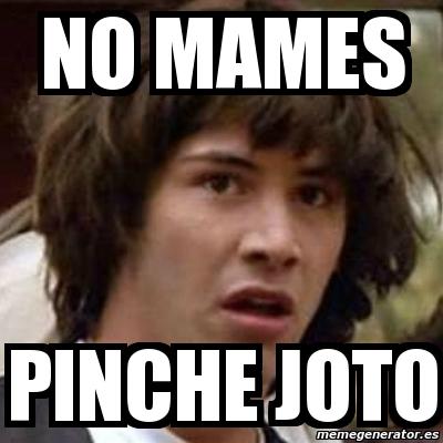 Meme Keanu Reeves - no...
