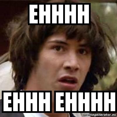 Meme Keanu Reeves - eh...