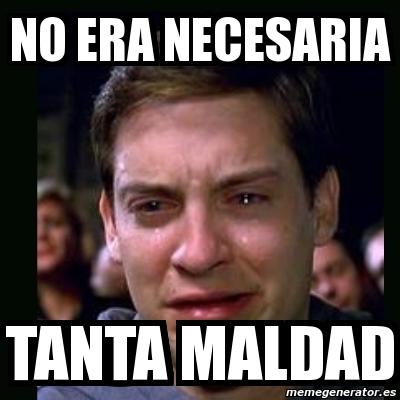 7064676 memegenerator crying peter parker crear meme crying peter parker,Memes De No