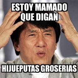 Meme Jackie Chan - est...