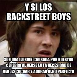 Meme Keanu Reeves Y Si Los Backstreet Boys Son Una