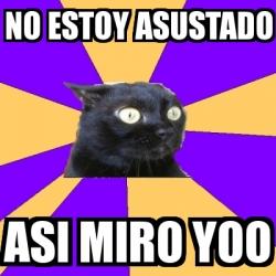 chronic anxiety cat meme - photo #23