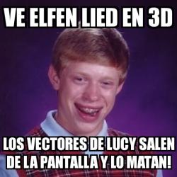 Meme Bad Luck Brian - ve elfen lied en 3d los vectores de ...