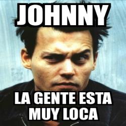 Meme Personalizado - j... Johnny Depp