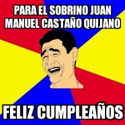 Meme Yao Ming Para El Sobrino Juan Manuel Castano Quijano Feliz