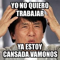 Meme Jackie Chan - Yo ...
