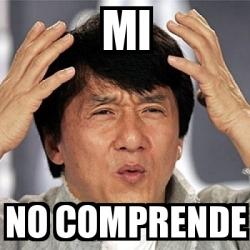 Meme Jackie Chan - MI ...