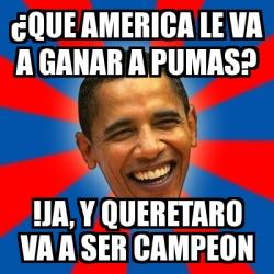 Memes America Queretaro
