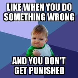 Meme Bebe Exitoso - Like when you do something wrong And ...