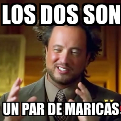 MEMES DE MARICAS
