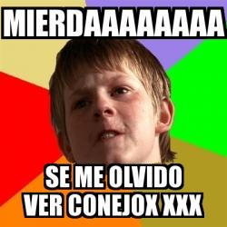 Conejas xxx